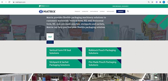 Updated Matrix Website