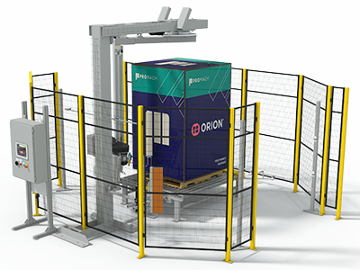 Rotary Tower Automatic Stretch Wrapper (RTC)