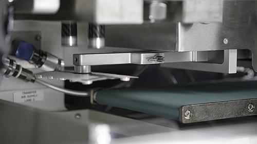 TF1pro Blister Machine Close-Up