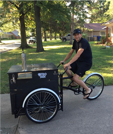 Dan McDonald - Nitro Joe's Cold Brew Cart (2015)