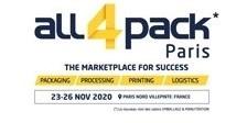 ALL4PACK Paris 2020 logo